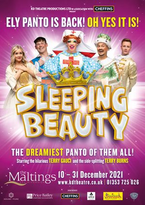 Casting Announced For SLEEPING BEAUTY Panto at The Maltings Ely